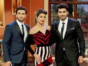Ranveer Singh, Priyanka Chopra and Arjun Kapoor
