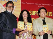 Big B unveils Priyanka Jha's debut book