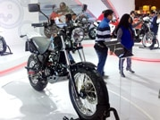 Bikes from DSK Hyosung stable grab eyeballs