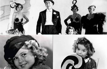 Shirley Temple, Charles Alden Black, John Agar, Bright Eyes, Stand Up and Cheer, Curly Top