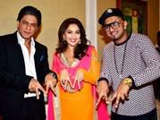 SRK, Madhuri, Yo Yo Honey Singh reload 'The Temptation'