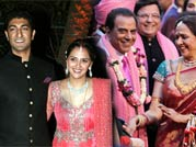 Amitabh Bachchan, Rekha attend Ahana Deol's wedding