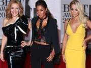 Celebs at 2014 BRIT Awards