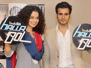 Kangana launches TV show while promoting Queen