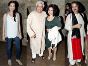 Dia, Divya with Akhtars attend screening of Shaadi Ke Side Effects