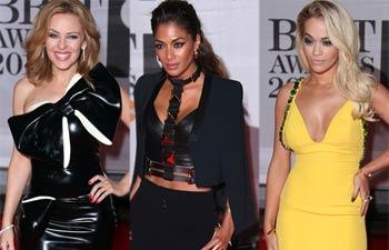 Kylie Minogue, Nicole Scherzinger and Rita Ora