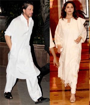 SRK, Madhuri Dixit, Tina Ambani