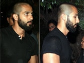 Spotted: Shahid Kapoor with his new look