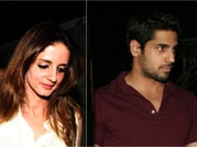 Sidharth and Sussanne spotted at Mumbai hot spot