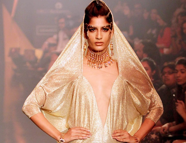 Gaurav Gupta's collection at Lakme Fashion Week.