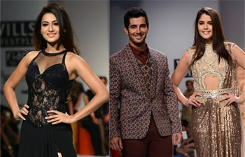Celebs at WIFW 2014.