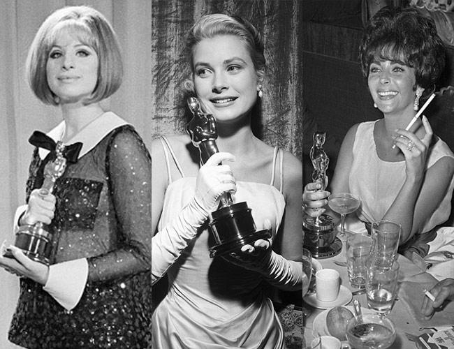 Audrey Hepburn, Frank Sinatra, Grace Kelly, Oscars, Elizabeth Taylor, Academy Awards