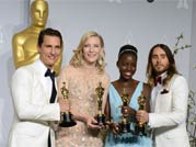 Oscar 2014 winners: Ecstatic celebs pose with the golden trophy