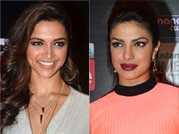 Collage of Deepika, Priyanka, Kangana, Sonakshi
