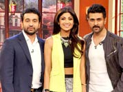 Shilpa, Harman and Raj Kundra's comedy night!