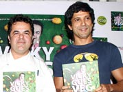 Farhan Akhtar launches chef Vicky Ratnani's book