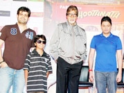 Big B on a promotional spree for Bhootnath Returns