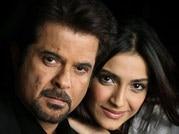 Anil Kapoor & Sonam Kapoor