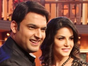 Sunny and Ekta grace sets of Comedy Nights With Kapil
