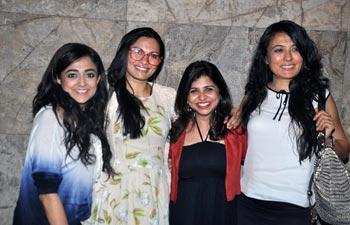 Monali Thakur, Maria Goretti, Elahe Hiptoola, Mini Mathur