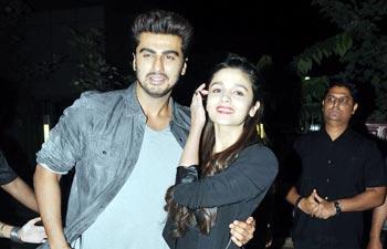 Alia Bhatt and Arjun Kapoor.