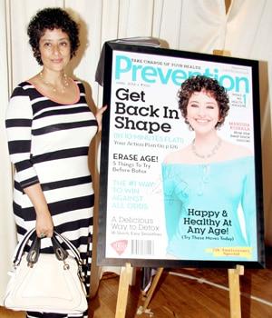 sonakshi sinha, manisha koirala, prevention, women's health, magazine cover