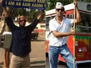 Bollywood celebs campaign for Aam Aadmi Party