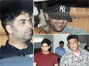 What's cooking guys: Ranbir with filmmaker friends at Aamir's residence!
