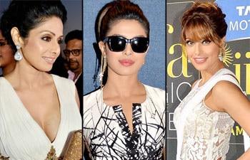 priyanka chopra, sridevi, vaani kapoor, gauhar khan, malaika arora khan, sonakshi sinha, kareena kapoor