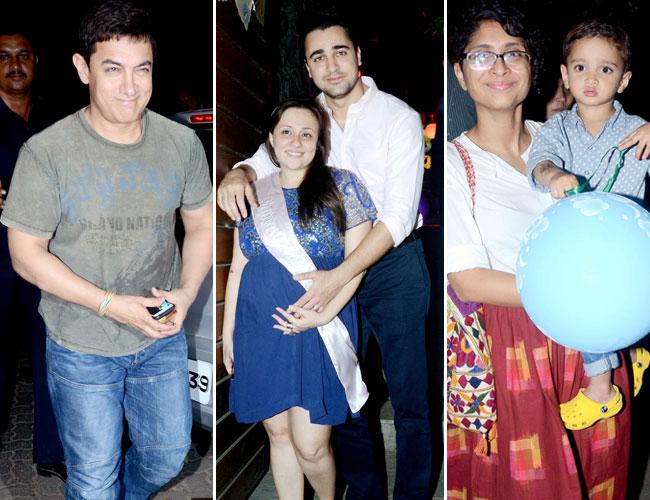 Aamit Khan, Imran Khan, Avantika, Kiran Rao and Azad