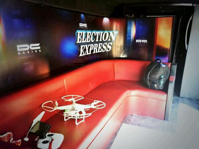 Election Express: An inside look