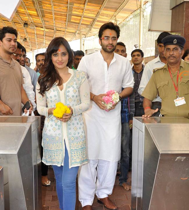 Neha Sharma and Jackky Bhagnani