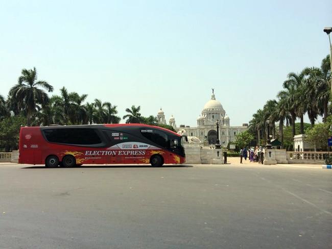 Election Express, Victoria Memorial, Kolkata