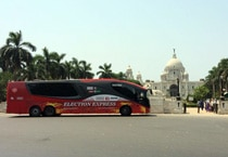 Election Express, Victoria Memorial, Kolkata