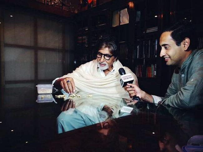 Big B with Rahul Kanwal, Editor-at-Large, Headlines Today