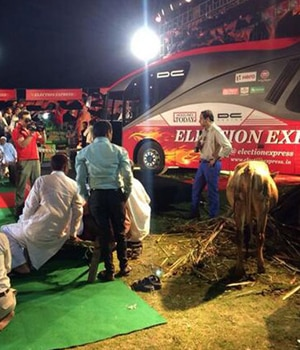 Election Express in Muzaffarnagar