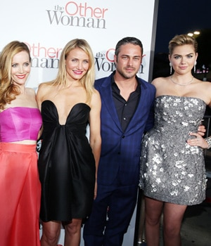 Hollywood actors at the premiere of The Other Woman