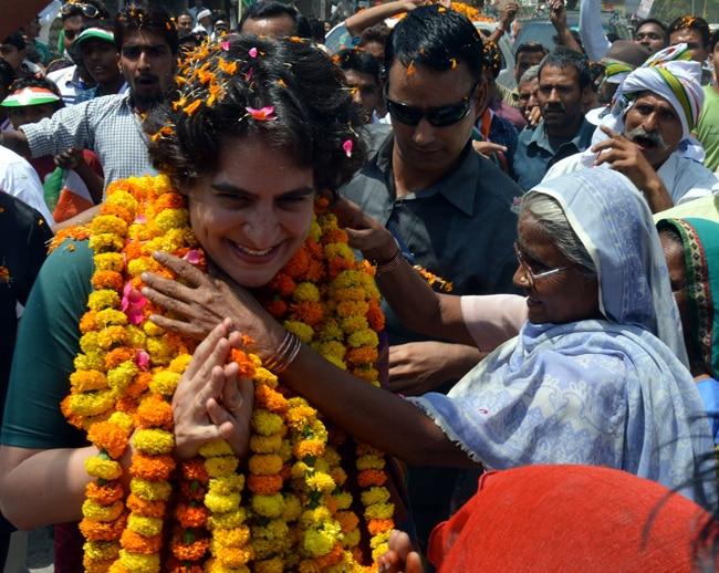 Priyanka Vadra Gandhi, Rae Bareli, Congress
