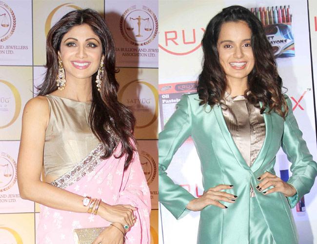 Shilpa Shetty and Kangana Ranaut