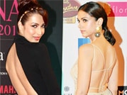 Malaika Arora, Aditi Rao flaunt their sexy back in style!