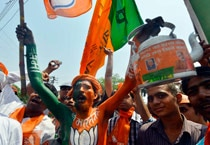 BJP protests over EC's denial for Modi rally