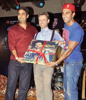 Ranveer Singh at album launch