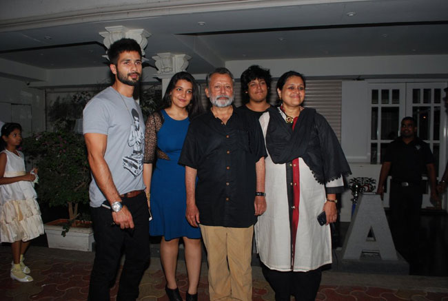 Shahid Throws Party For Dad Gifts Him Mercedes On His Birthday