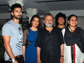 Shahid Kapoor with family
