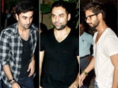 It's Saturday night bash for Bollywood hunks
