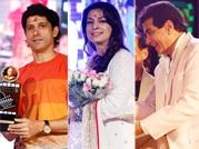 Farhan Akhtar, Juhi Chawla and Jeetendra