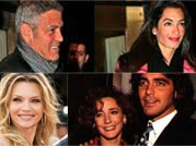 George Clooney and his saga of affairs