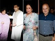 Karan Johar, Kirron Kher and Anupam Kher