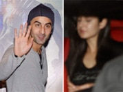 Spotted: Ranbir Kapoor and Katrina Kaif on a movie date