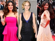 Cannes fashion divas: Freida Pinto, Salma Hayek, Jennifer Lawrence
